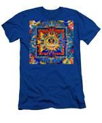 Mandala Amitayus Buddha Men's T-Shirt (Athletic Fit)