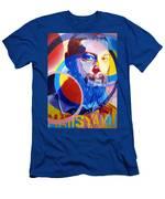 Matisyahu In Circles Men's T-Shirt (Athletic Fit)