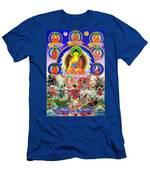 Medicine Buddha 12 Men's T-Shirt (Athletic Fit)