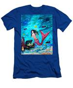 Mermaids Treasure Men's T-Shirt (Athletic Fit)