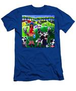 Moo Cow Farm Men's T-Shirt (Athletic Fit)