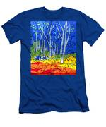 Mosaic Stained Glass - My Woods Men's T-Shirt (Athletic Fit)