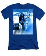 Mrdog #4 In Blue Men's T-Shirt (Athletic Fit)