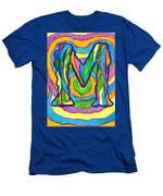 Mystic M Men's T-Shirt (Athletic Fit)