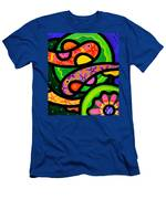 Paisley Pond - Horizontal Men's T-Shirt (Athletic Fit)