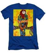 Parrot Oshun Men's T-Shirt (Athletic Fit)