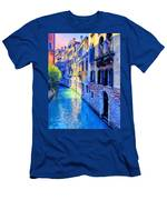Quiet Morning In Venice Men's T-Shirt (Athletic Fit)