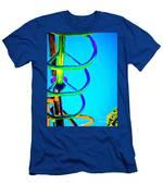 Shape No.21 Color Version Men's T-Shirt (Athletic Fit)