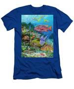 Snapper Reef Re0028 Men's T-Shirt (Athletic Fit)