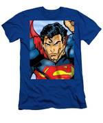 Superman Men's T-Shirt (Athletic Fit)