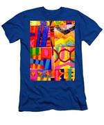 Painting Collage I Men's T-Shirt (Athletic Fit)