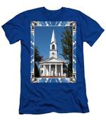 The First Church Of Evans In New York State Men's T-Shirt (Athletic Fit)