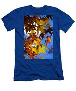 The Golden Hues Of Autumn  Men's T-Shirt (Athletic Fit)