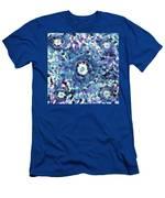Turquoise Cloud Men's T-Shirt (Athletic Fit)