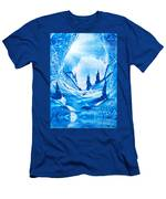 Valley Of The Castles Painting Men's T-Shirt (Athletic Fit)