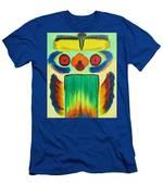 Wise Bird Totem Men's T-Shirt (Athletic Fit)