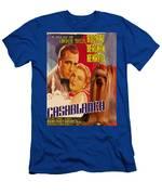 Yorkshire Terrier Art Canvas Print - Casablanca Movie Poster Men's T-Shirt (Athletic Fit)