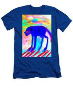 When Your Inner Dog Is Feeling Blue  Men's T-Shirt (Athletic Fit)