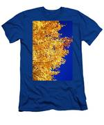 Blue And Gold Men's T-Shirt (Athletic Fit)