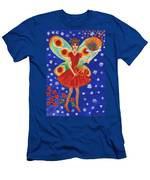 Christmas Pudding Fairy Men's T-Shirt (Athletic Fit)