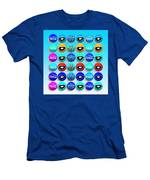 Uncle Sams Buttons Men's T-Shirt (Athletic Fit)