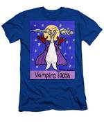 Vampire Tooth Men's T-Shirt (Athletic Fit)