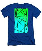 Metal Frame Abstract Men's T-Shirt (Athletic Fit)