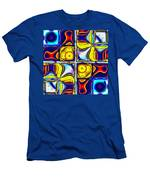 Abstractica Moderna Catus 1 No. 1 H B Men's T-Shirt (Athletic Fit)