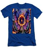 Celestial Butterfly Men's T-Shirt (Athletic Fit)