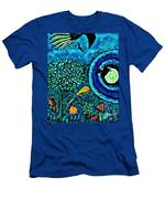 A Little Garden At The Edge Of The World Men's T-Shirt (Athletic Fit)
