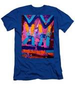 Abstract 10316 - Cropped Men's T-Shirt (Athletic Fit)