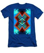 Abstract Photomontage No 3 Men's T-Shirt (Athletic Fit)