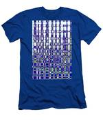 Abstract Time Men's T-Shirt (Athletic Fit)