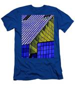 Angles In The Sky Men's T-Shirt (Athletic Fit)