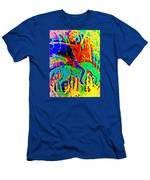 The Artist Of The Burning Rainbow  Men's T-Shirt (Athletic Fit)