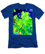 Autumn Leaf Abstract Men's T-Shirt (Athletic Fit)