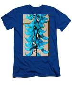 Blue Jade Strand Men's T-Shirt (Athletic Fit)