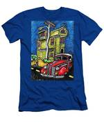 Crooked House Men's T-Shirt (Athletic Fit)