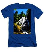 Diamond Creek Falls Men's T-Shirt (Athletic Fit)