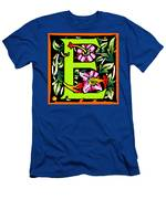 E In Green Men's T-Shirt (Athletic Fit)