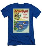 Ecuador 1950's Men's T-Shirt (Athletic Fit)
