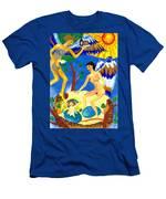 Feral Angels Men's T-Shirt (Athletic Fit)