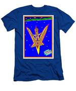 Flying Over The Ocean Men's T-Shirt (Athletic Fit)