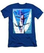 Four Blue Angels Men's T-Shirt (Athletic Fit)