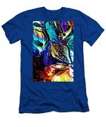 Glass Abstract 687 Men's T-Shirt (Athletic Fit)