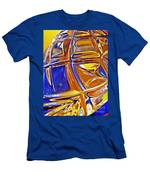 Glass Abstract 768 Men's T-Shirt (Athletic Fit)