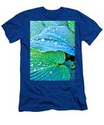 Hosta After The Rain Men's T-Shirt (Athletic Fit)