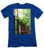 Iron Fence 2 Men's T-Shirt (Athletic Fit)