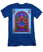 King David And His Musicians Men's T-Shirt (Athletic Fit)
