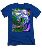 Lightning On Ocean Men's T-Shirt (Athletic Fit)